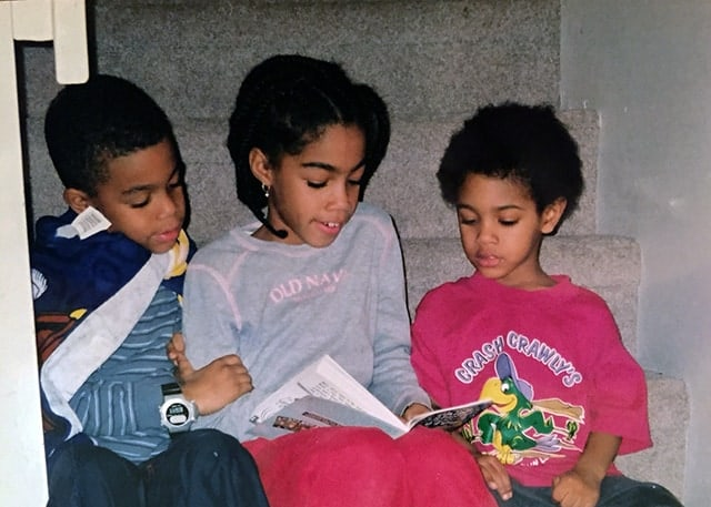 Me and My brother's reading
