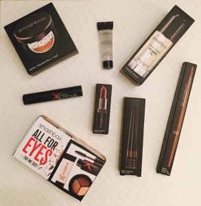 """Smashbox Items bought after my """"free makeover""""."""