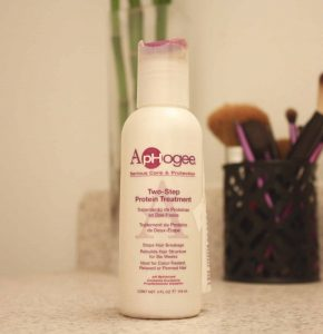Aphogee Two Step Protein Treatment Review | Repair Damaged Natural Hair from Dyeing or Heat Damage