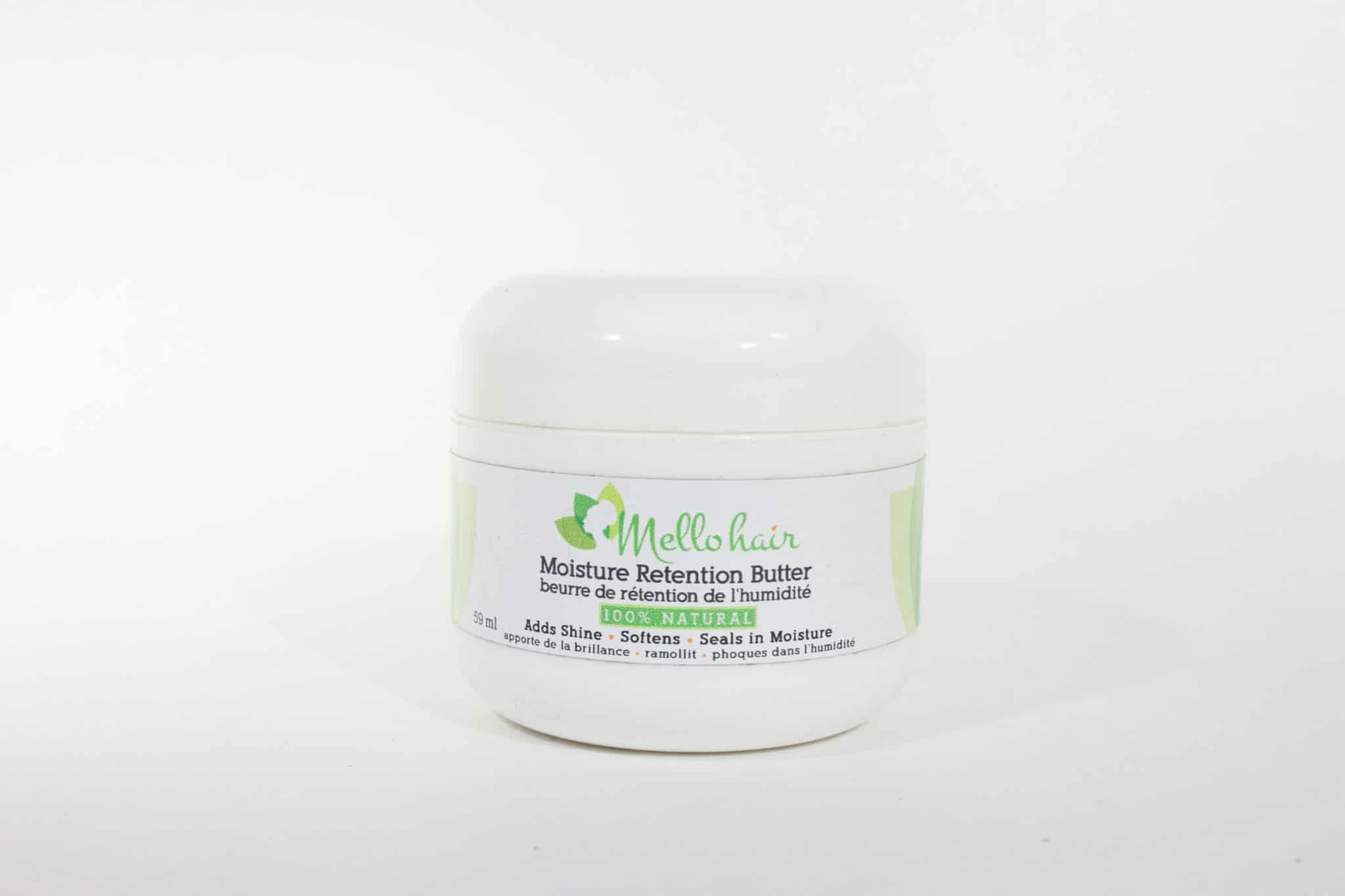 Melo Hair Moisture Retention Butter | Canadian Made Natural Hair Products