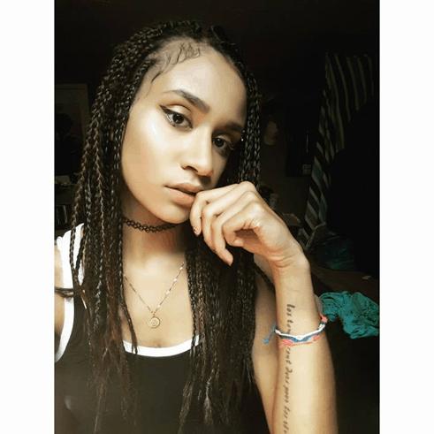 Dark Brown Box Braids   DIY   Mixed Girl