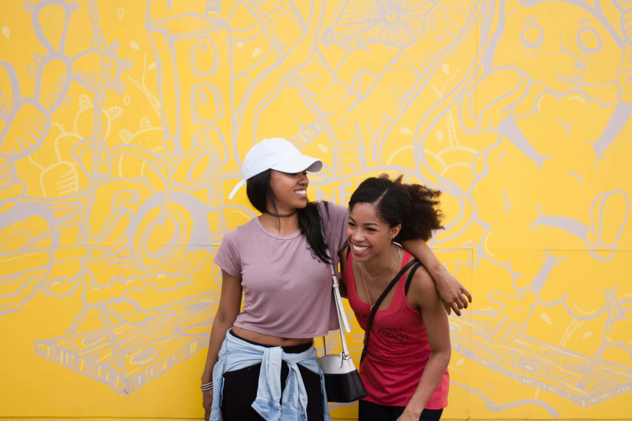 Care Free Black Girls | Long Distance Friendship | Black BFFs | Melanin