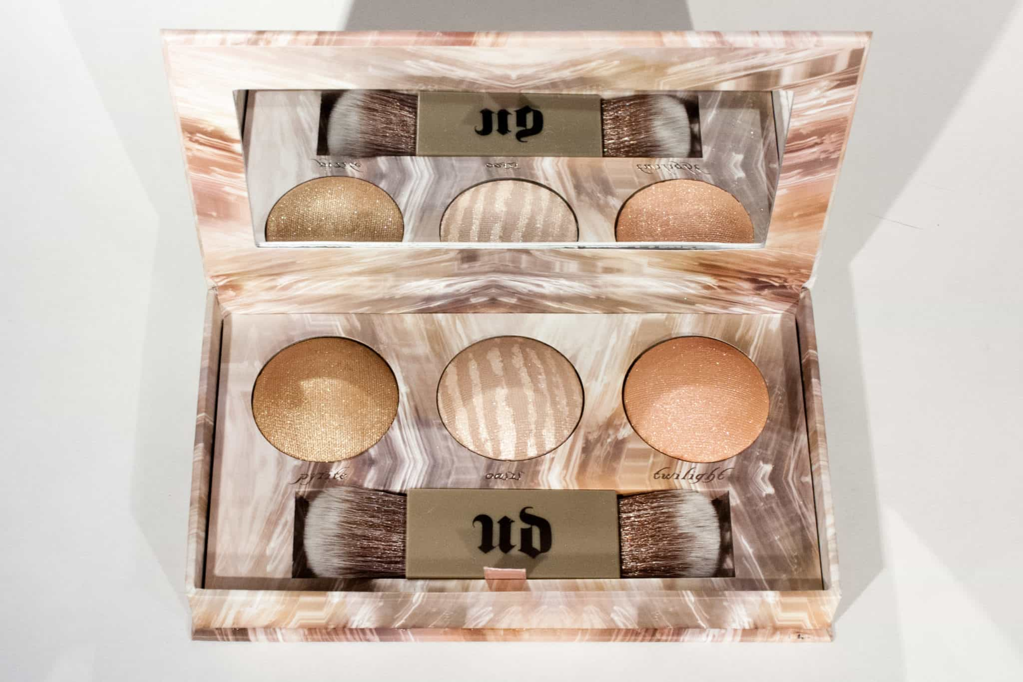 Urban Decay Naked Illuminated Trio   Limited Edition Highlighter Palette   Blog