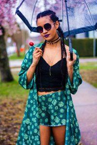 Protective Style   Tilda Kimono   Coachella Fashion