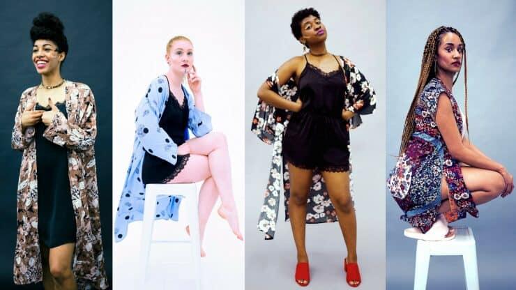 Tilda Kimono on Etsy   Black Designer   Buy Black   Entrepeneur