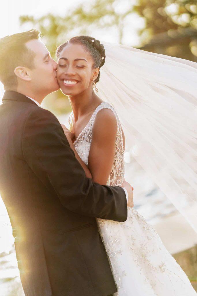 Interracial Couple BWWM Marriage   Black Bride