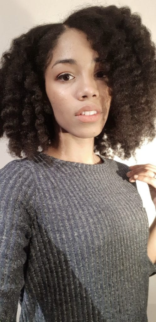 Fluffy Twist Out using Naptural 85's Melanin Hair Care Twist Elongating Cream and Oil