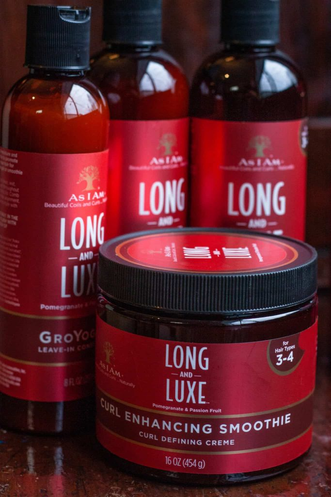 As I Am Long and Luxe Curl Enhancing Smoothie   Pomegranate and Passion Fruit Lengthening and Strengthening Review on Natural Hair