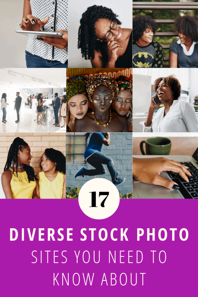 17 Diverse Stock Photo Site Featuring People of Color. Stock Photos of Black People Pinterest Pin.