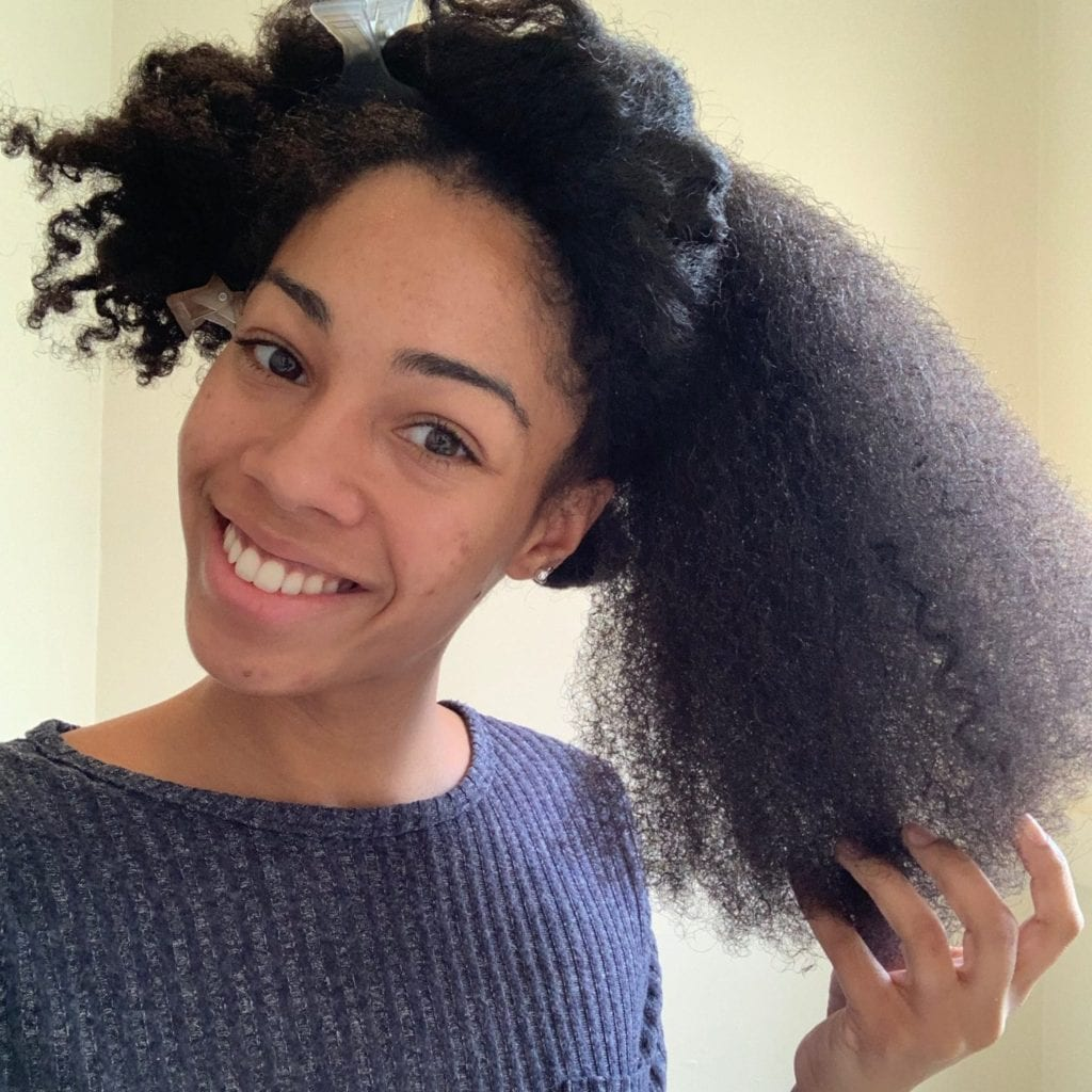 Canadian Natural Hair Blogger/ Influencer Started with untwisted hair (still defined)