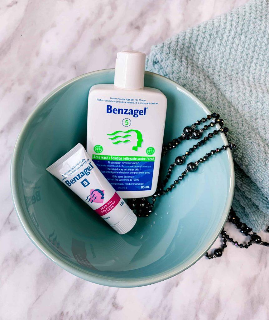 Benzagel Canada Acne Wash and Benzagel 5 Acne Gel