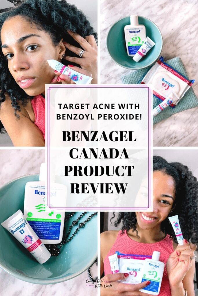 Target Acne with Benzoyl peroxide: Benzagel Canada Product Review