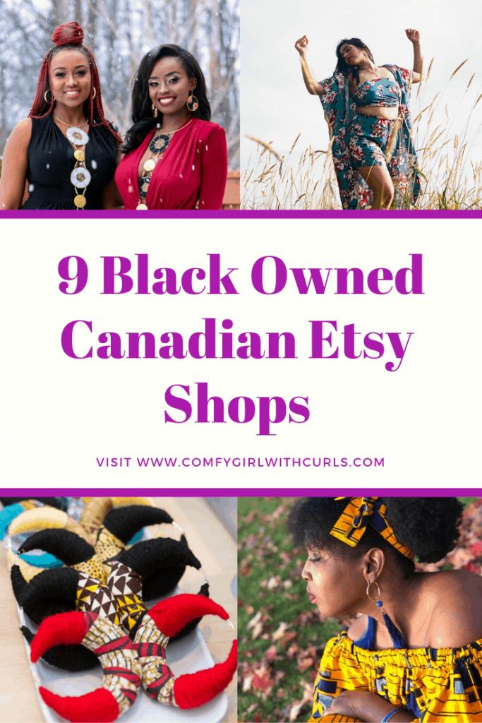 9 Black Owned Canadian Etsy Shops