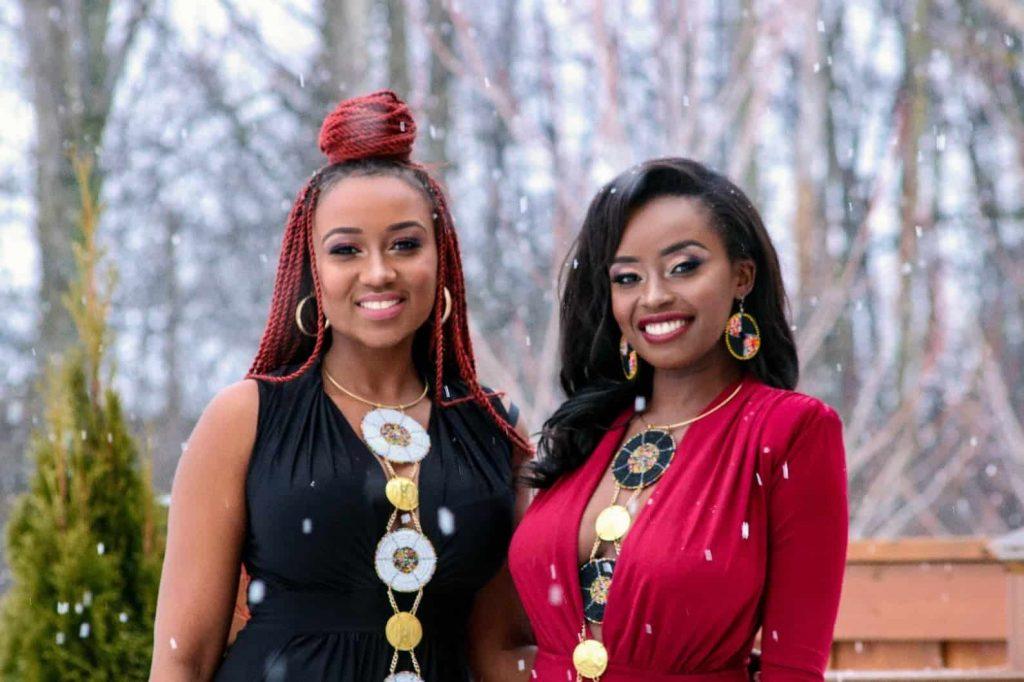 SanaaZuri   Afro-goddess Necklace   Black Owned Canadian Etsy Seller