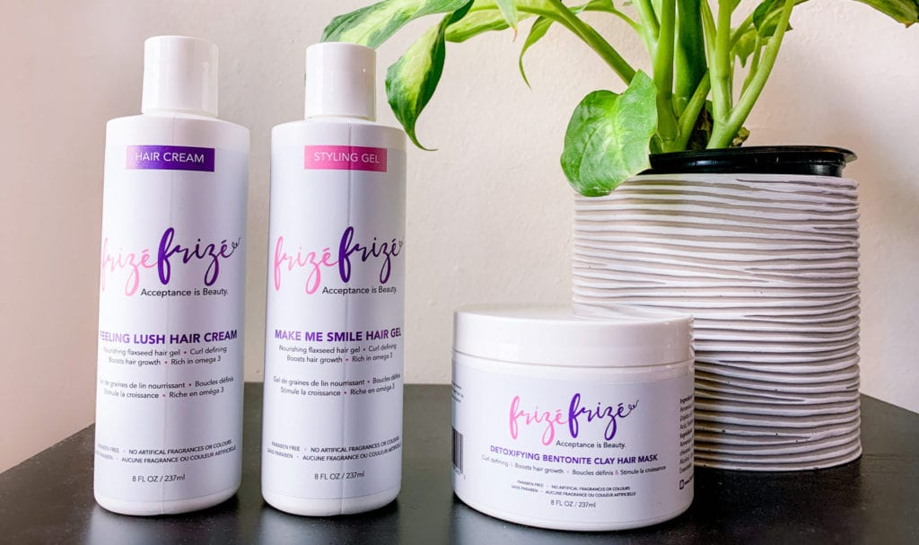 Frizé Frizé Hair Care and Styling Products Review | Canadian Natural Hair Company | Frize Frize