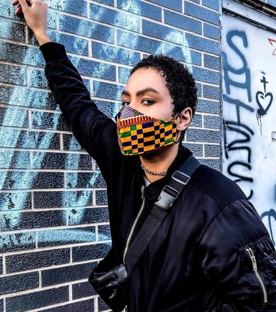 Black Owned Face Masks   African Print