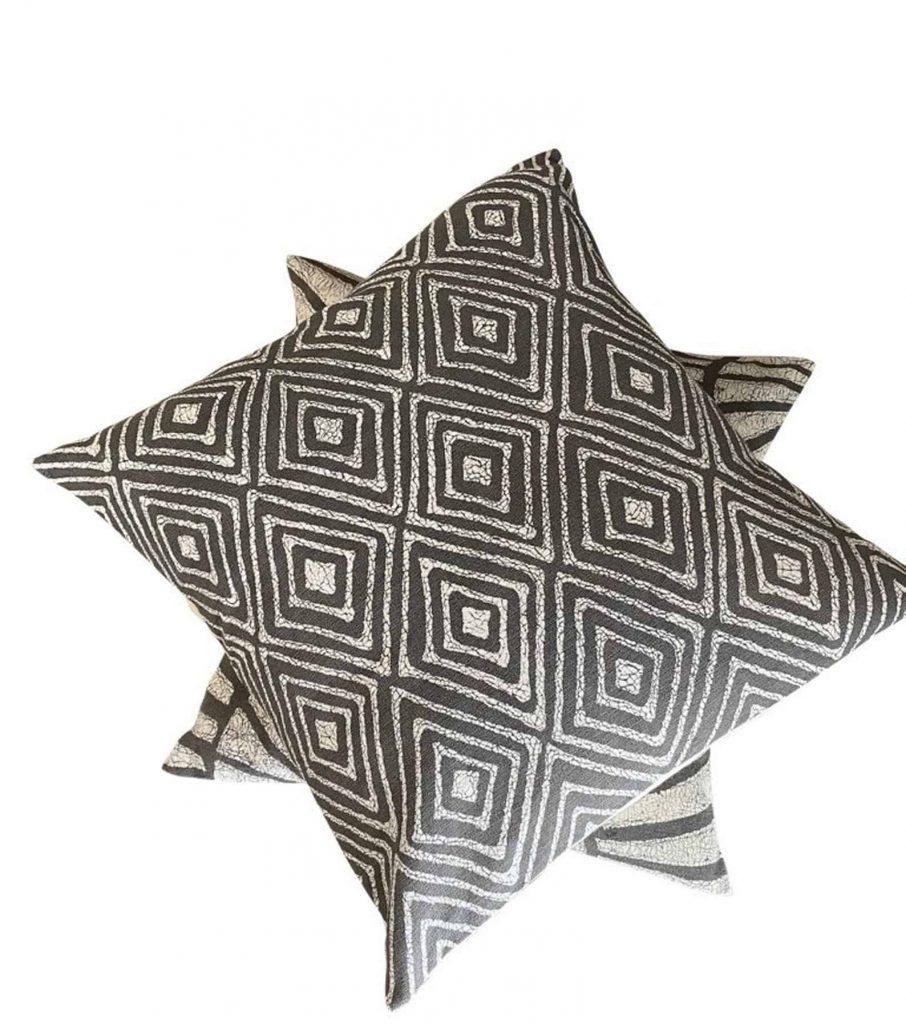 BatiquaGifts Buy Black   Canadian Etsy Shop FairTrade Textiles   African Pillow Cases