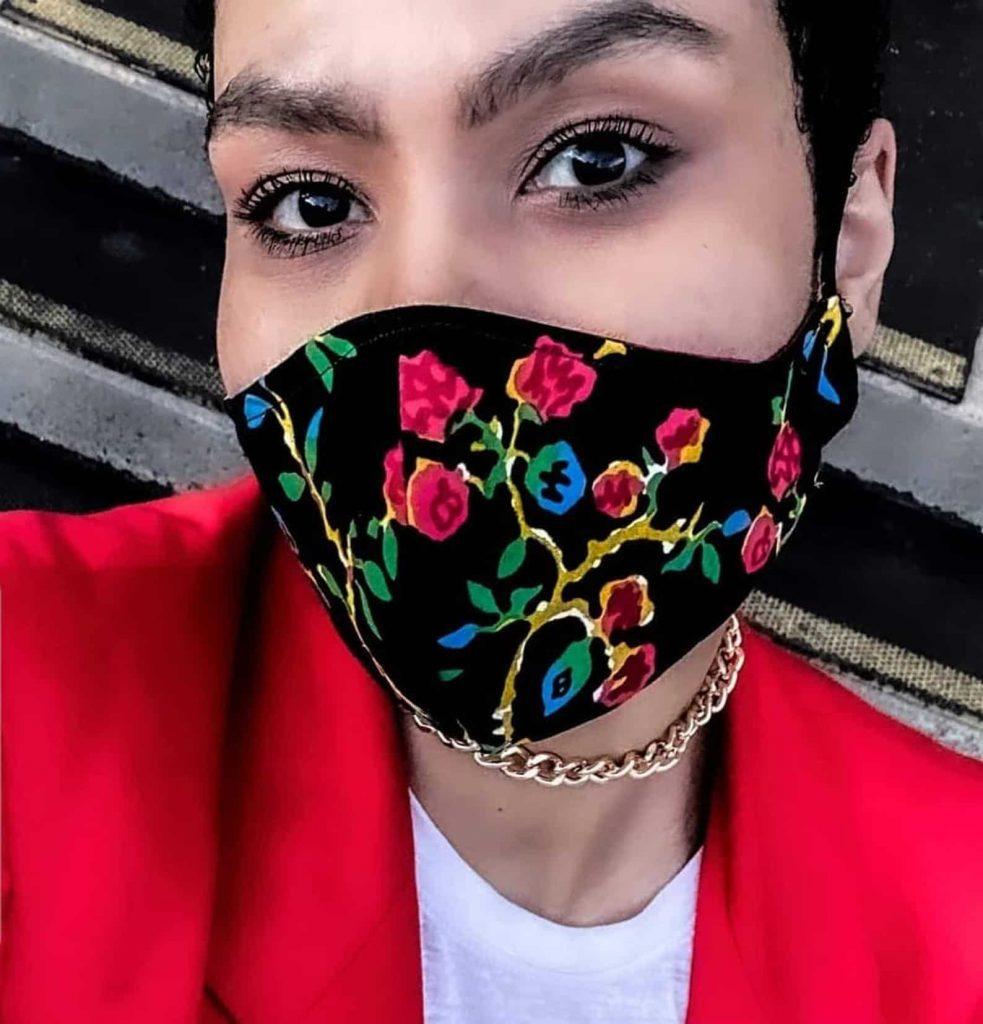 Floral Black Owned Canadian Face Masks