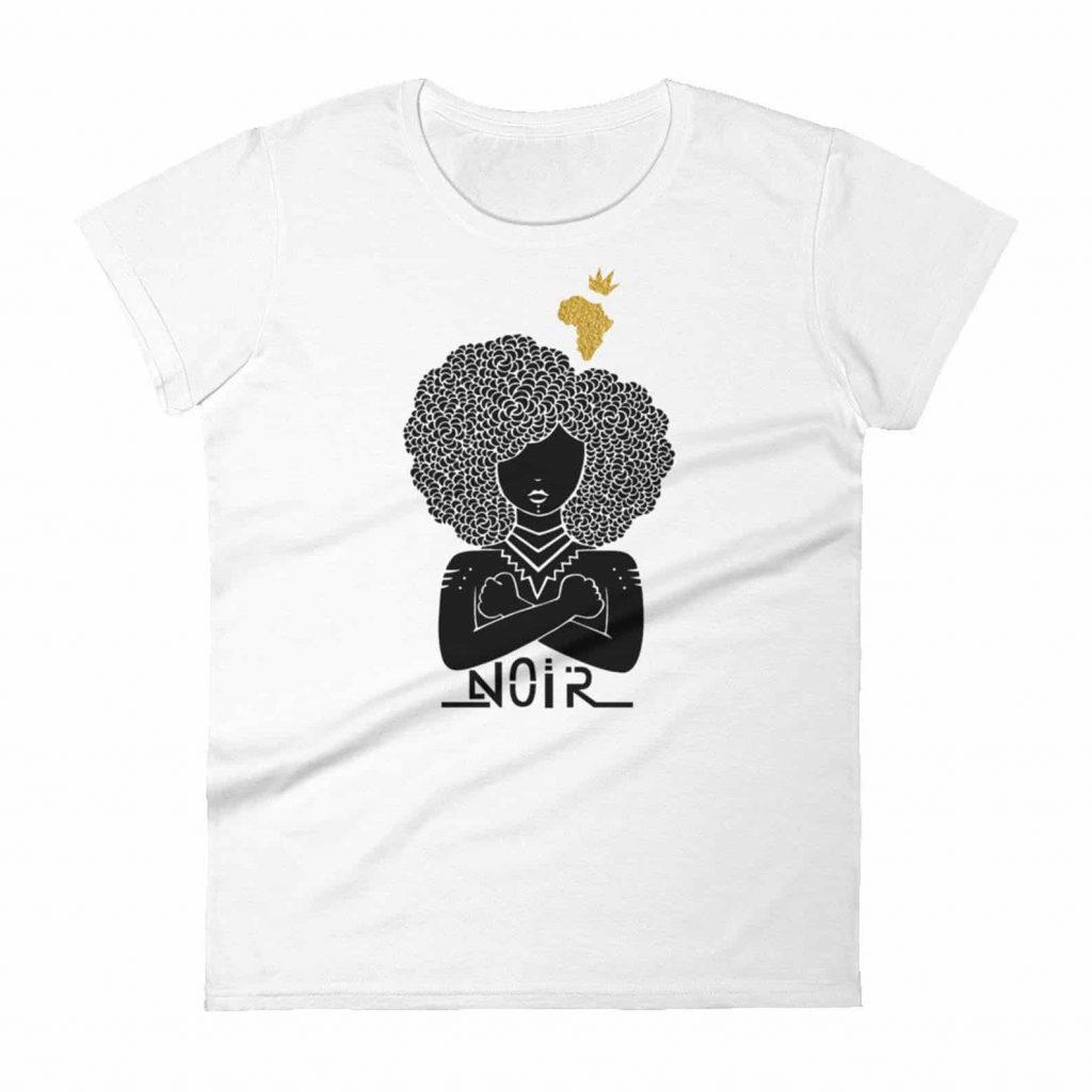Black Canadian artist printed on t shirt