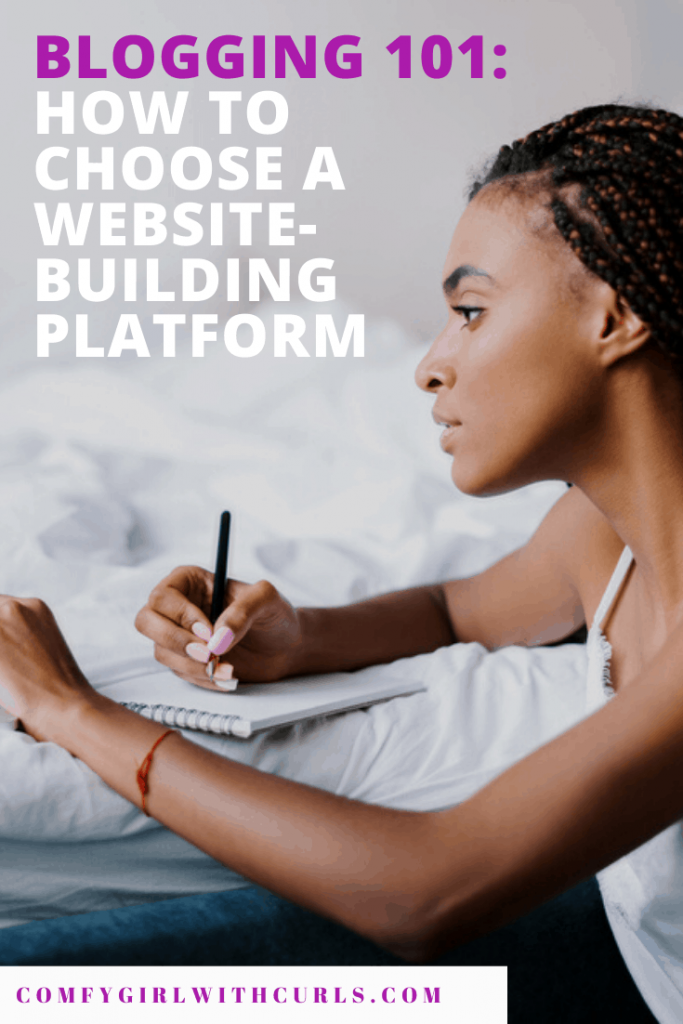 Blogging 101: How to choose a website building platform for your blog. Do you choose Wix, Squarespace, or Wordpress?
