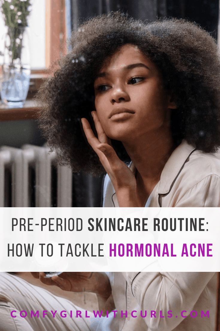 My Pre-Period Skincare Routine   How I Tackle Pimples before my Period