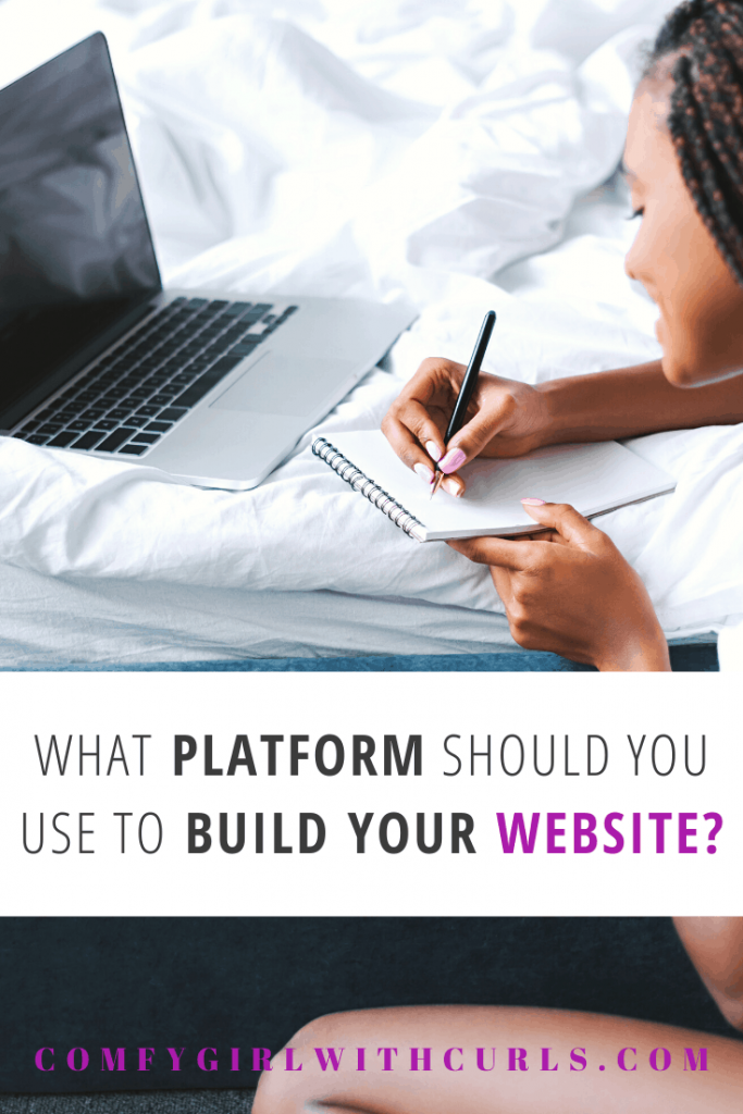 What Platform should you use to build your website   Blogging Basics 101, What is the best? Wix, Squarespace, or Wordpress?