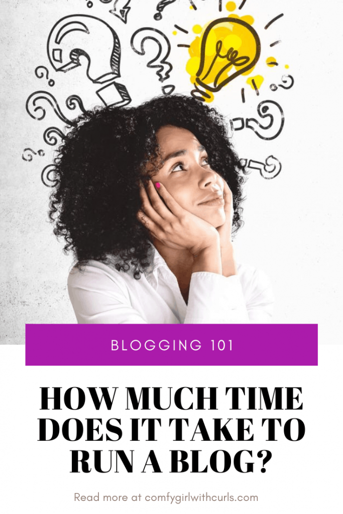 How much time does it take to run a blog   Blogging 101   Blogger Basics Questions and answers