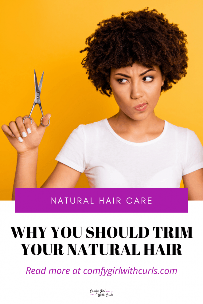 Natural Hair Care Tips: Why You should trim your natural hair.