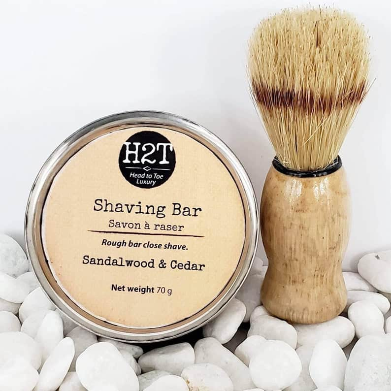 Best Black-owned Etsy Gifts for Him - H2TBody Shaving Bar