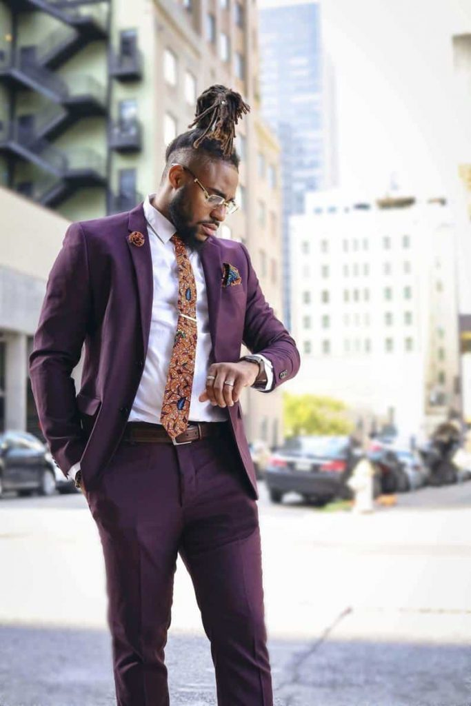 Afrocentric Gifts for Men   Gabe Jade Accessories African Print Tie