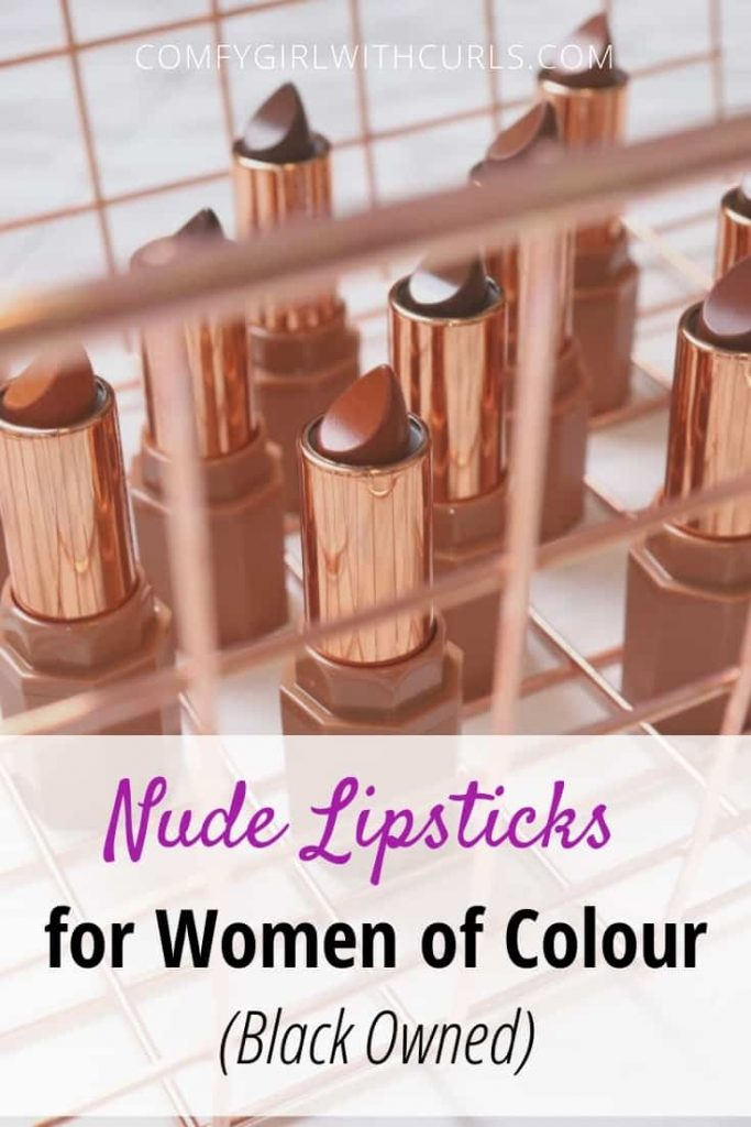 Nude Lipsticks for Women of Color (Black-owned)