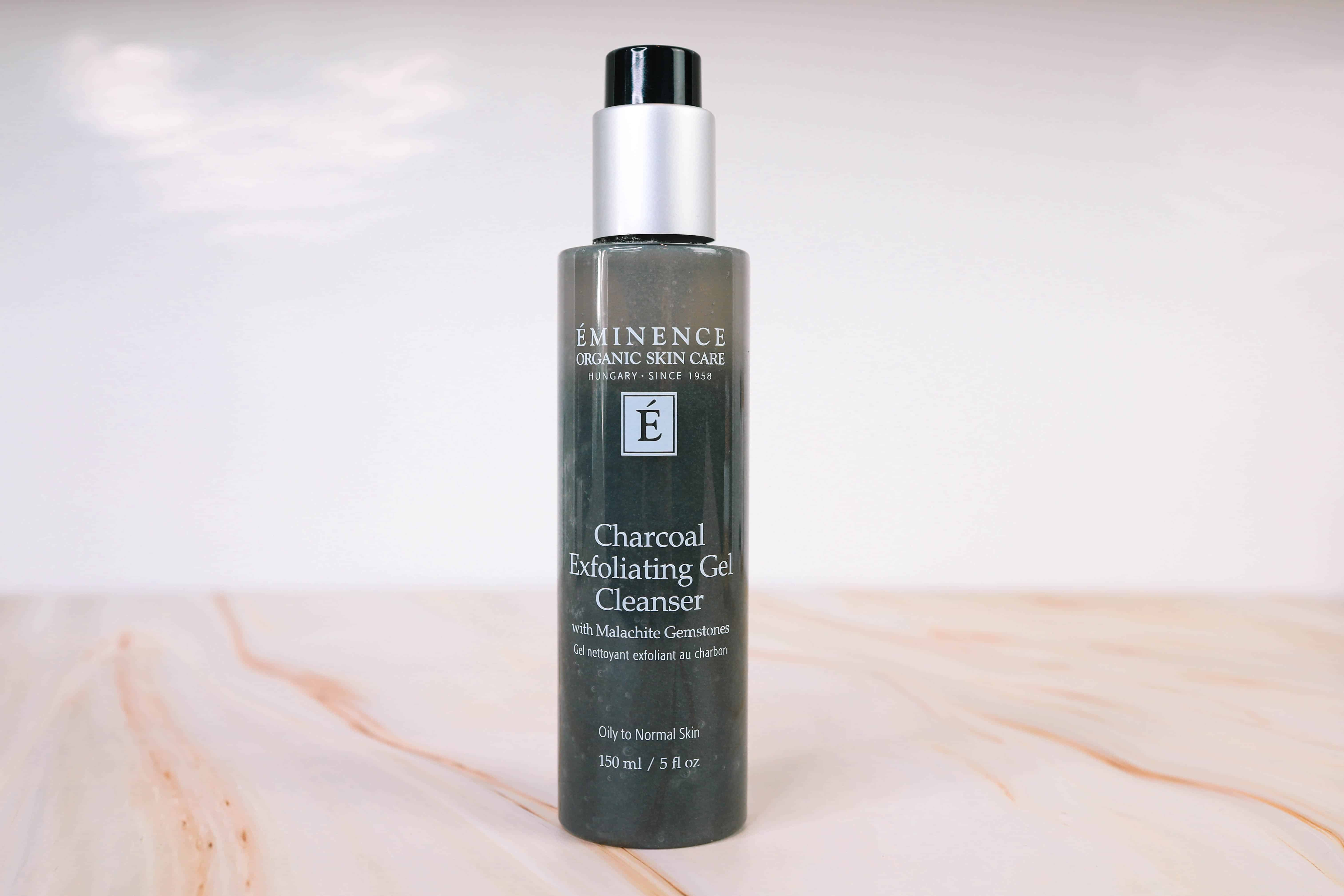 Eminence Organic Skin Care Charcoal Exfoliating Gel Cleanser with Malachite Gemstones