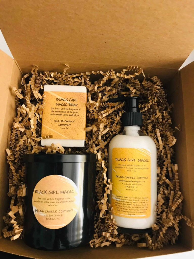 Black Girl Magic Gift Set Scented Soy Candles | Black-Owned Candle Company
