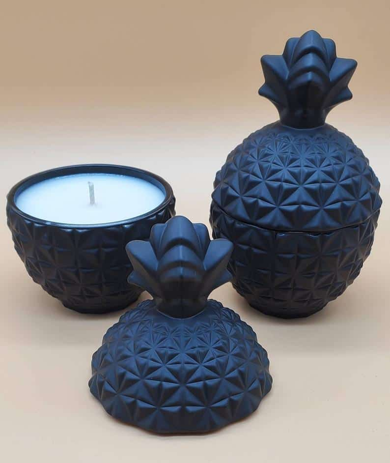SmellsLikeLuxury | Pineapple candle holder | Cool shaped candles