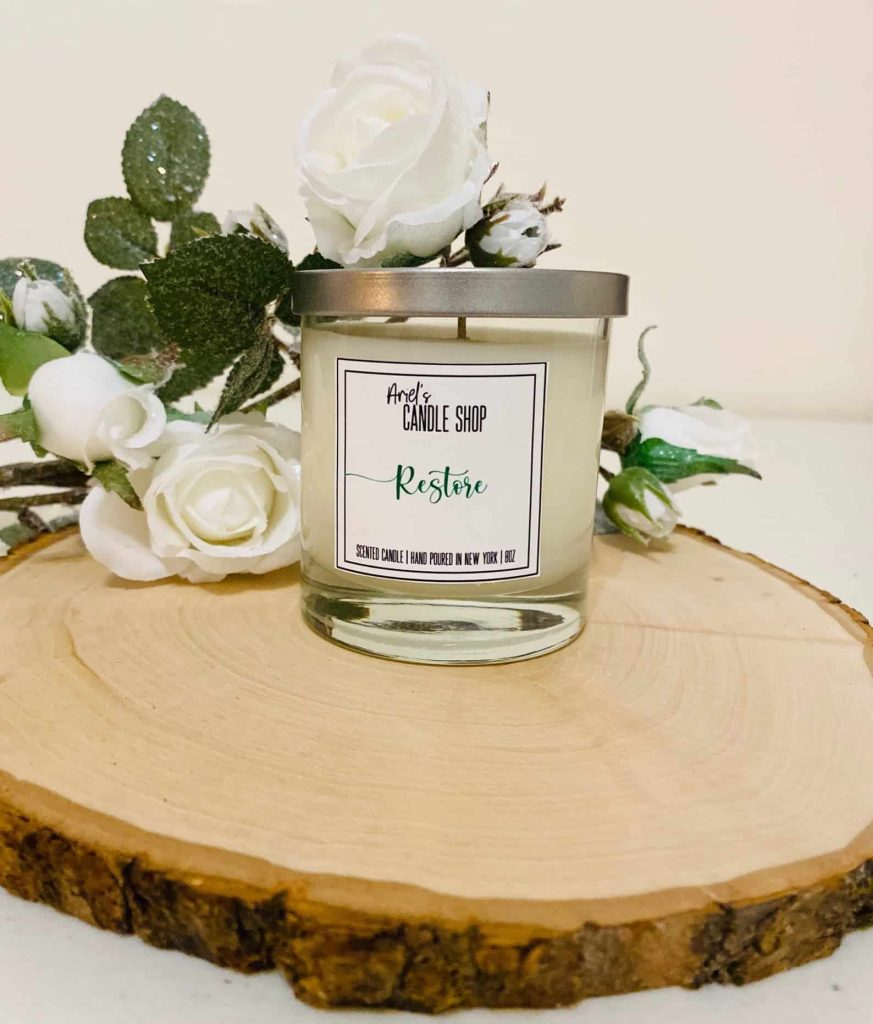 Restore | Black Owned Aromatherapy candles on Etsy