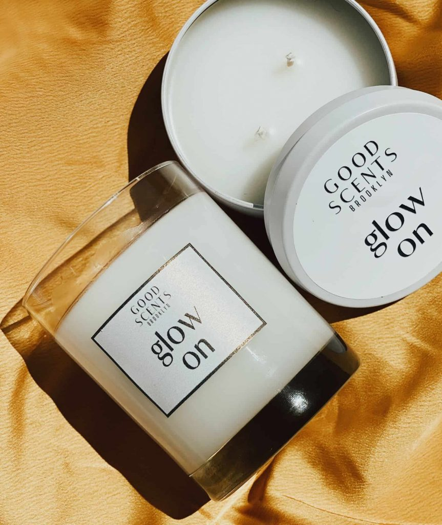 Scented Coconut Wax Candles | Glow On Good Scents | Black Owned Candles
