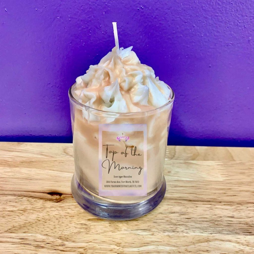 Unique and Cool shaped Candles like a milkshake dessert